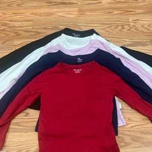 Children's place girl layering long sleeve tee 5/6